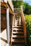 Manufacture and erection of external timber staircase and terracing